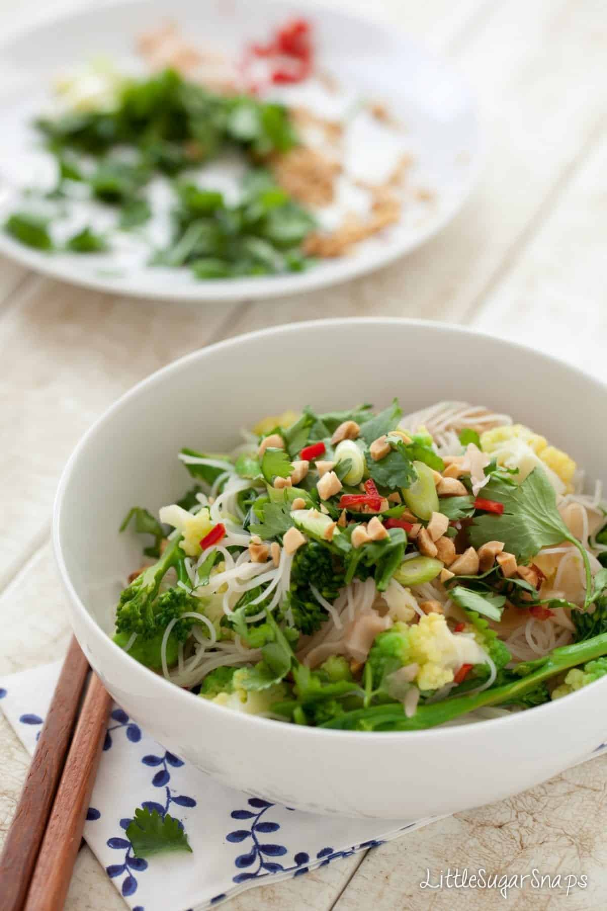Pickled Ginger Noodle Salad