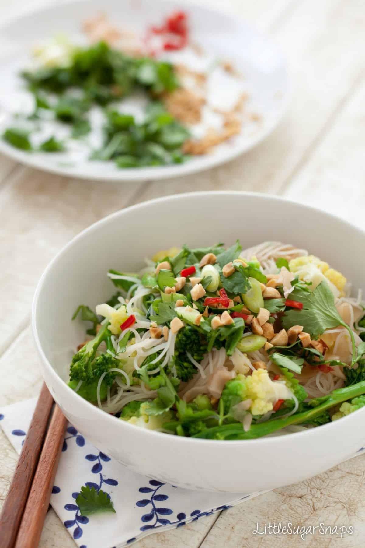 Pickled Ginger Noodle Salad
