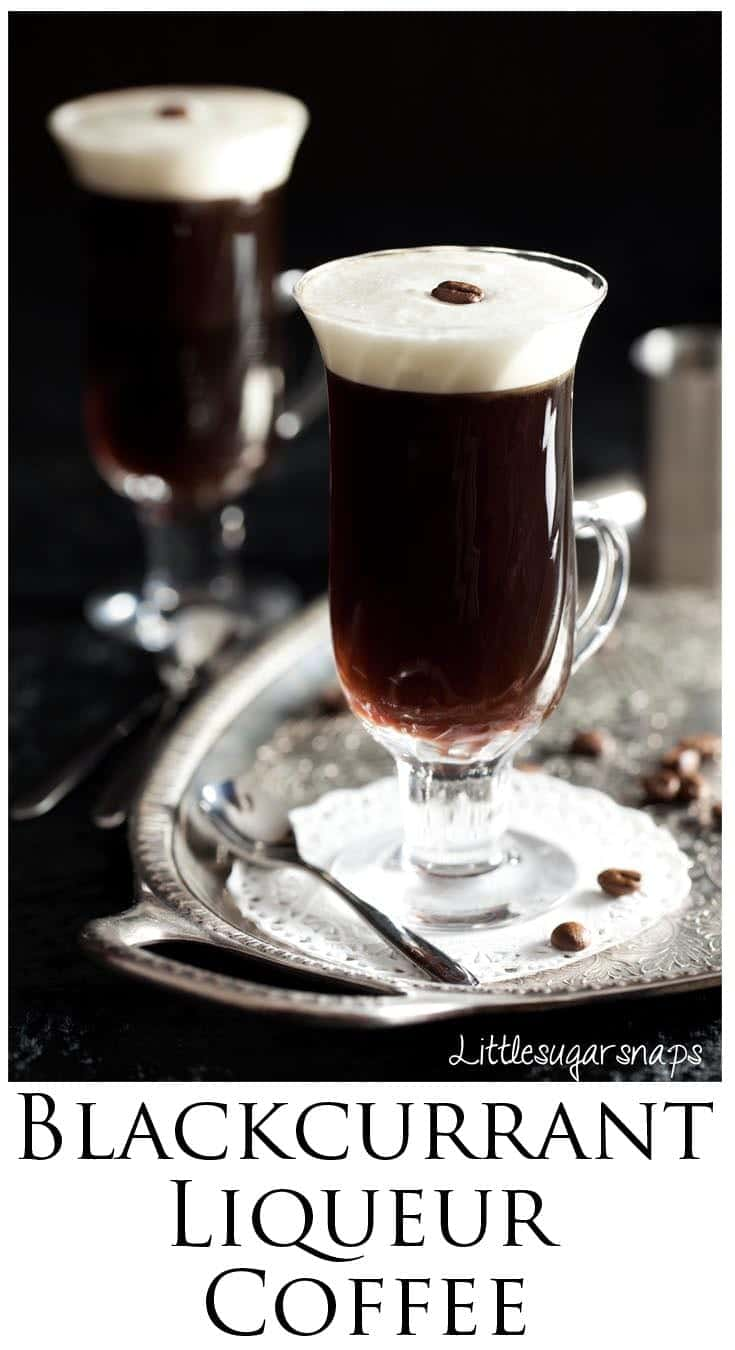 Coffee with Blackcurrant & Almond is a fantastic flavour combination. Try it in a liqueur coffee