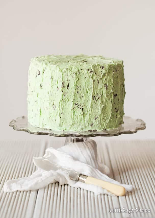 Mint Choc Chip Cake