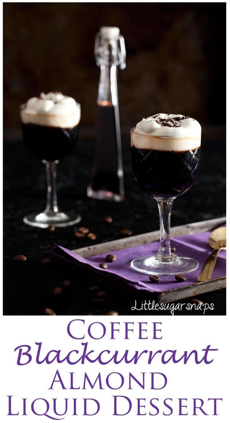 Coffee with Blackcurrant & Almond is a fantastic flavour combination. Try it as a liquid dessert