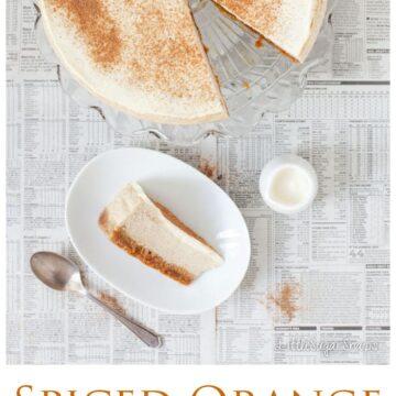 Spiced Orange Rum Cheesecake