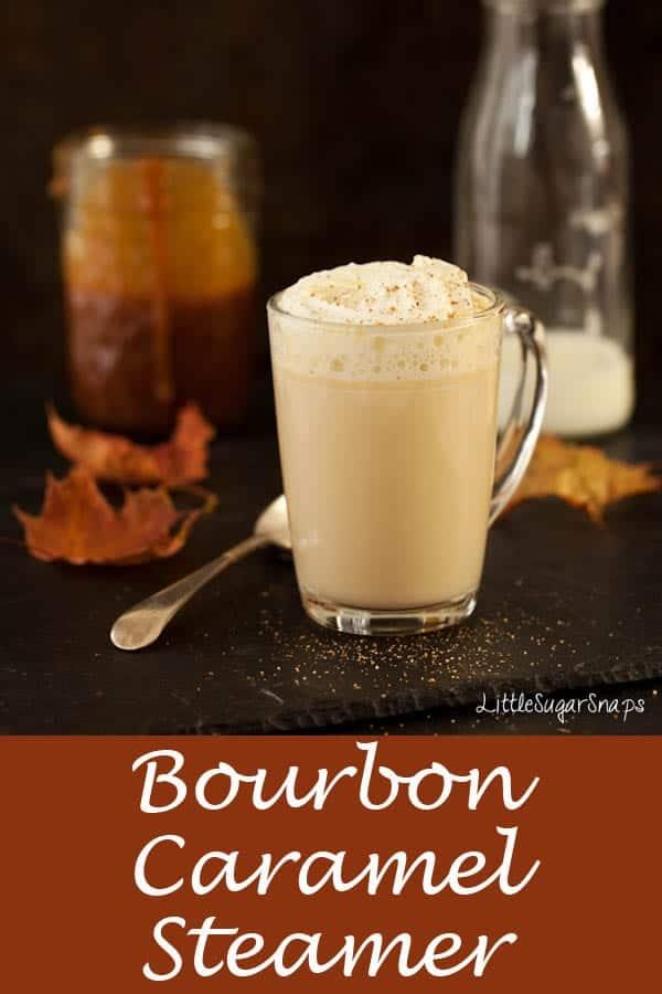 Bourbon Caramel Steamer #milkydrink #caramelsteamer #caramelmilk #bourboncaramel #bourbondrink #carameldrink #bourbonmilk