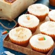 Carrot, Coconut & Spelt Cupcakes