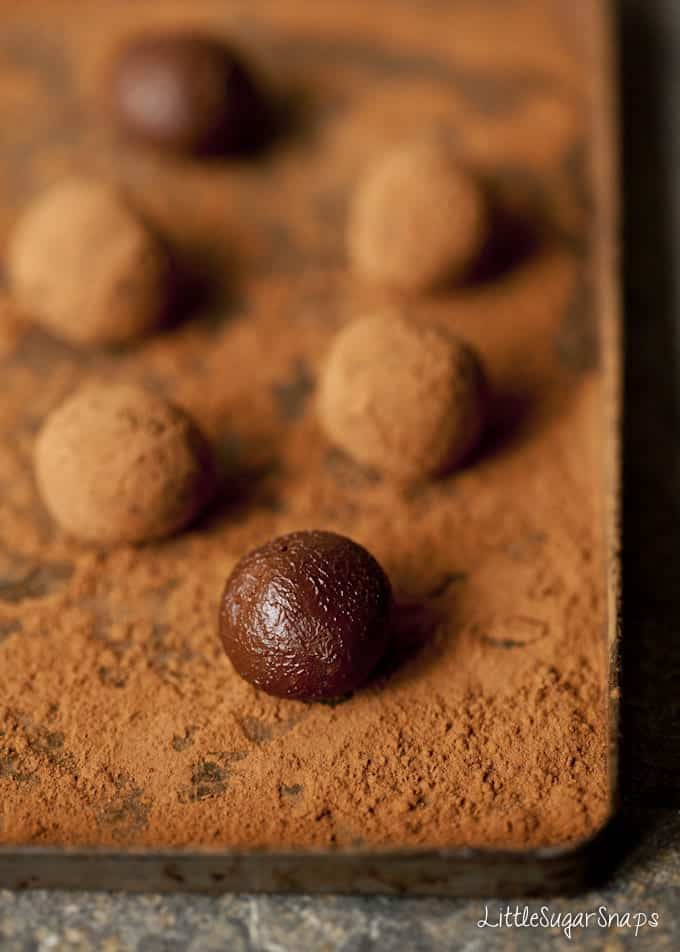 Aztec Chocolate Truffles