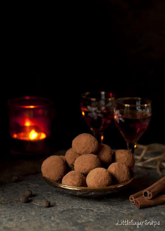 Aztec Chocolate Truffles