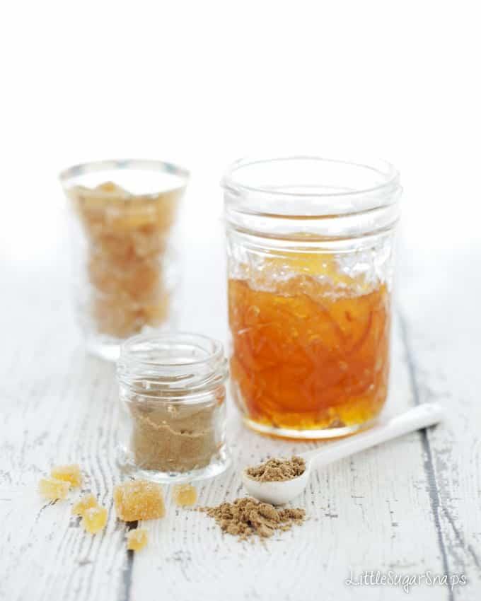 Marmalade Ginger Cranberry Granola