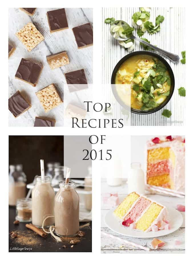 Top Recipes from Littlesugarsnaps 2015 - text overlay