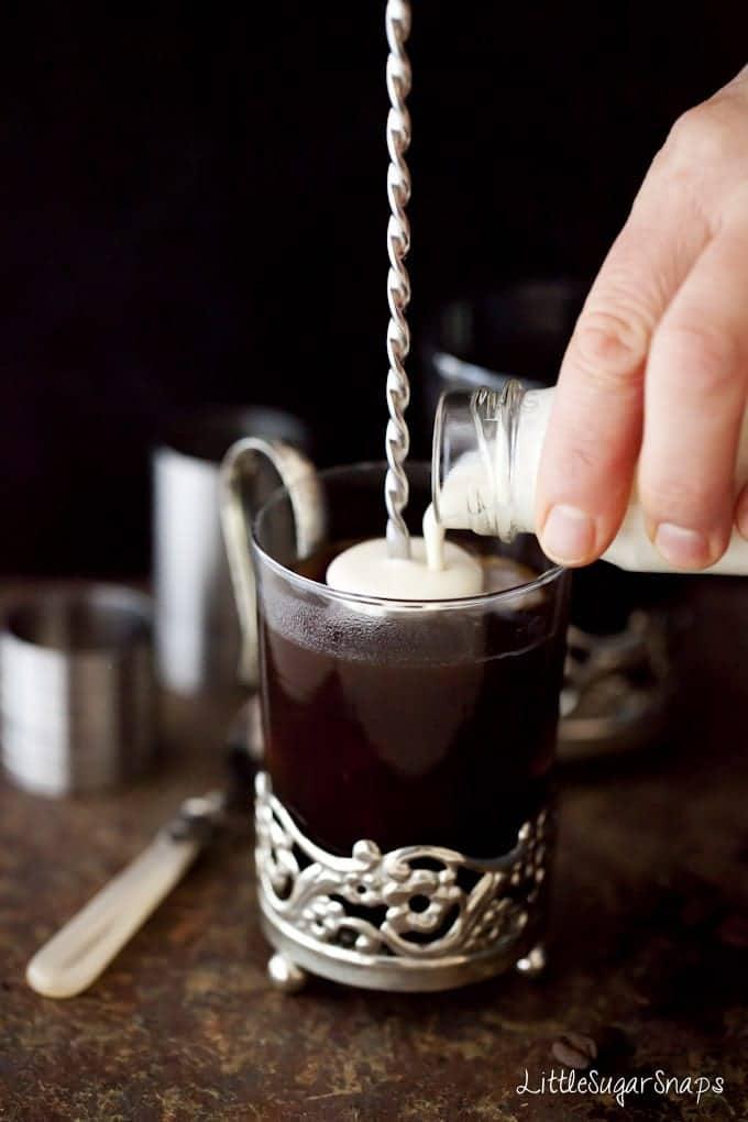 Coconut Liqueur Coffee