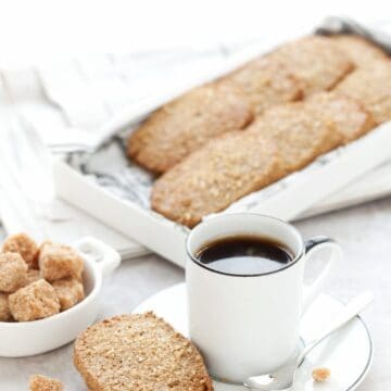 Ginger Spiced Rye Biscuits