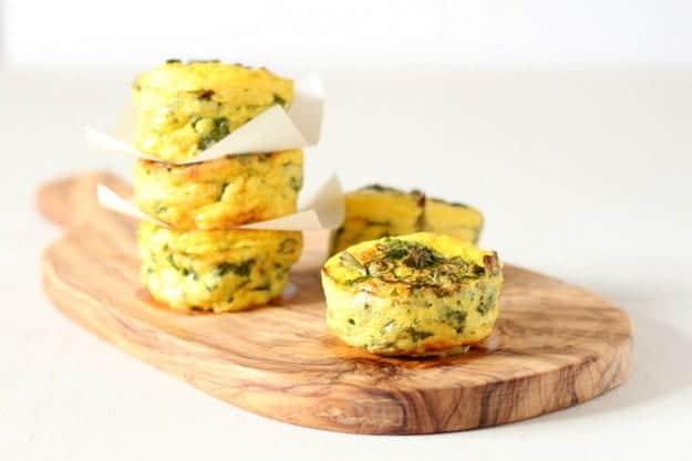 Spinach & Yoghurt Frittata