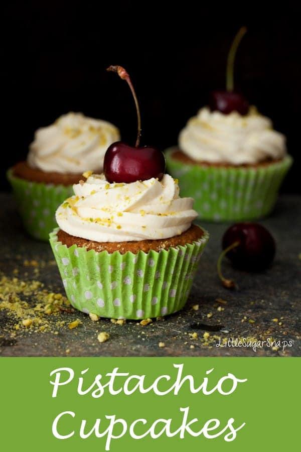 Pistachio Cupcakes #pistachiocupcakes #pistachiocake #pistachiorecipe