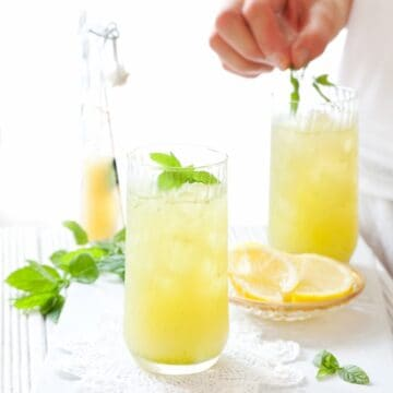 Apple Lemon Mint Cooler