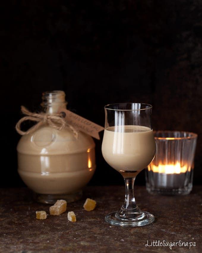 gingerbread cream liqueur