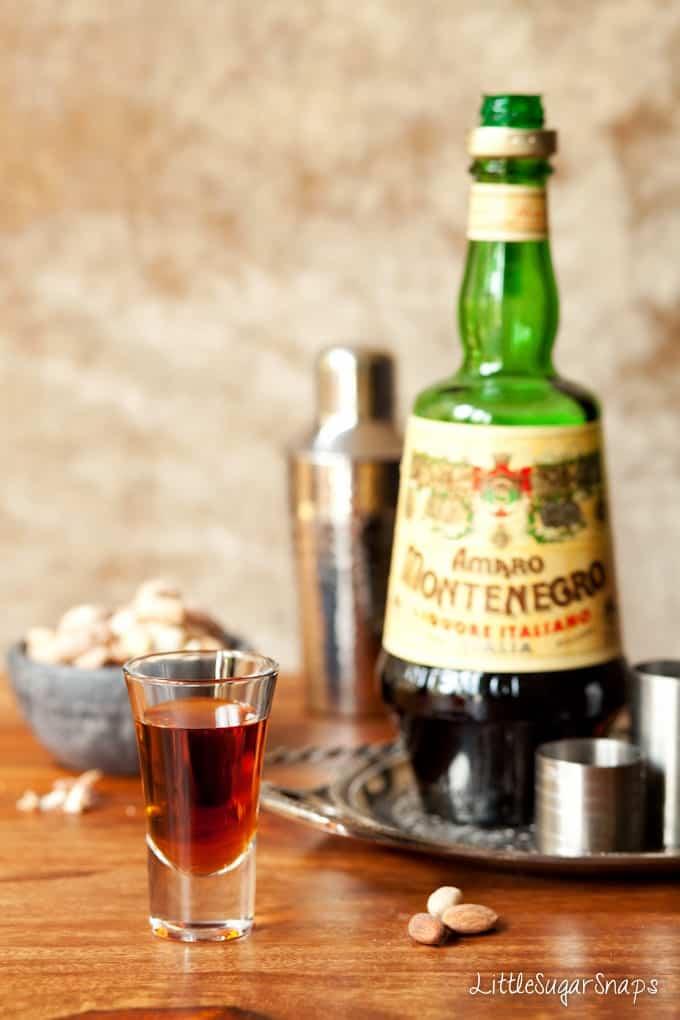 Bourbon, Campari & Amaro Cocktail