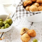 Cheesy Olive Pastries
