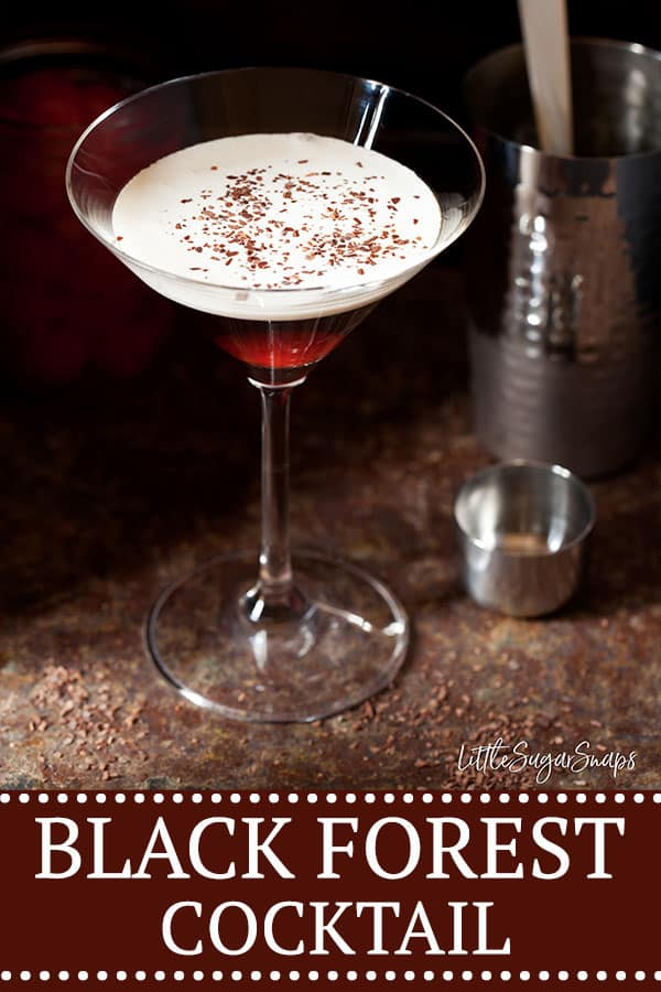 BLACK FOREST COCKTAIL WITH BOURBON