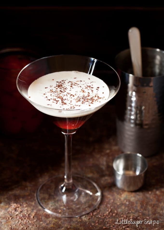 Bourbon Black Forest Cocktail
