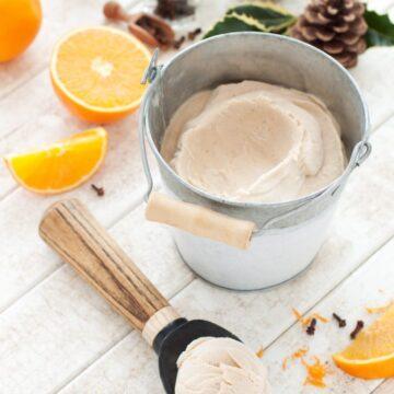 Bozzy Orange Clove Ice Cream