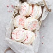 Chocolate Peppermint Meringue Sandwich