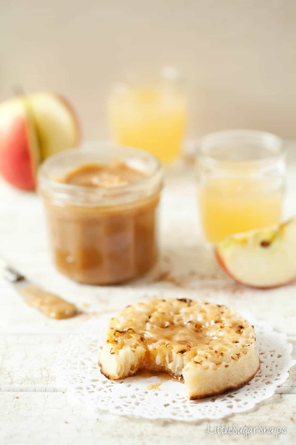 Spreadable Cinnamon Apple Caramel