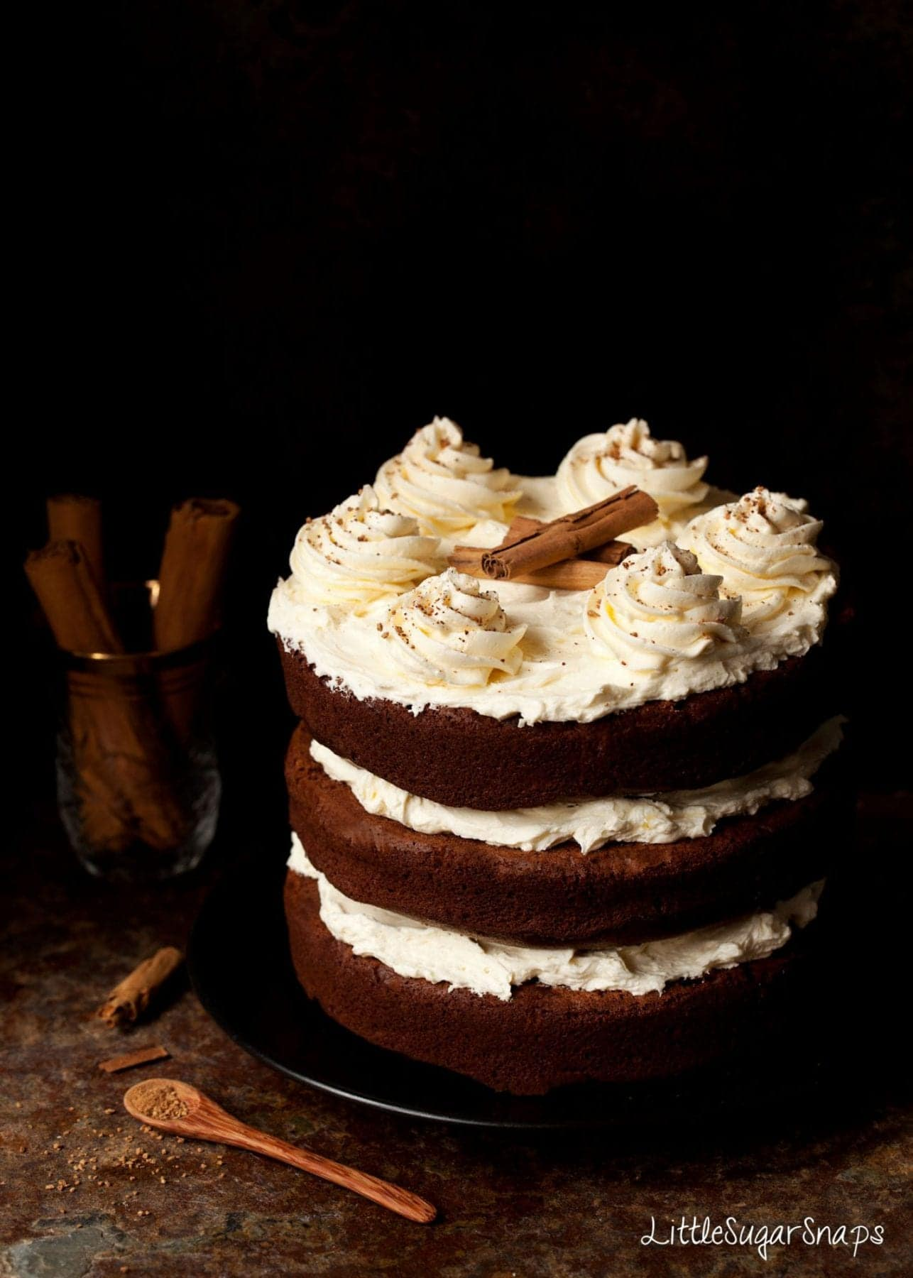 Cinnamon Chocolate Cake