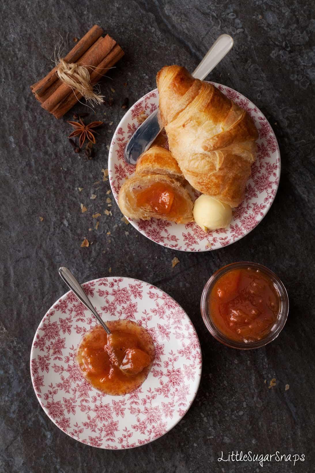 Spiced Peach Jam