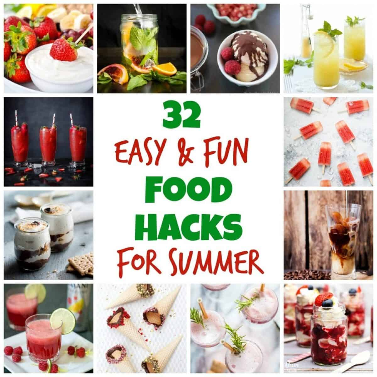 Summer Food Hacks