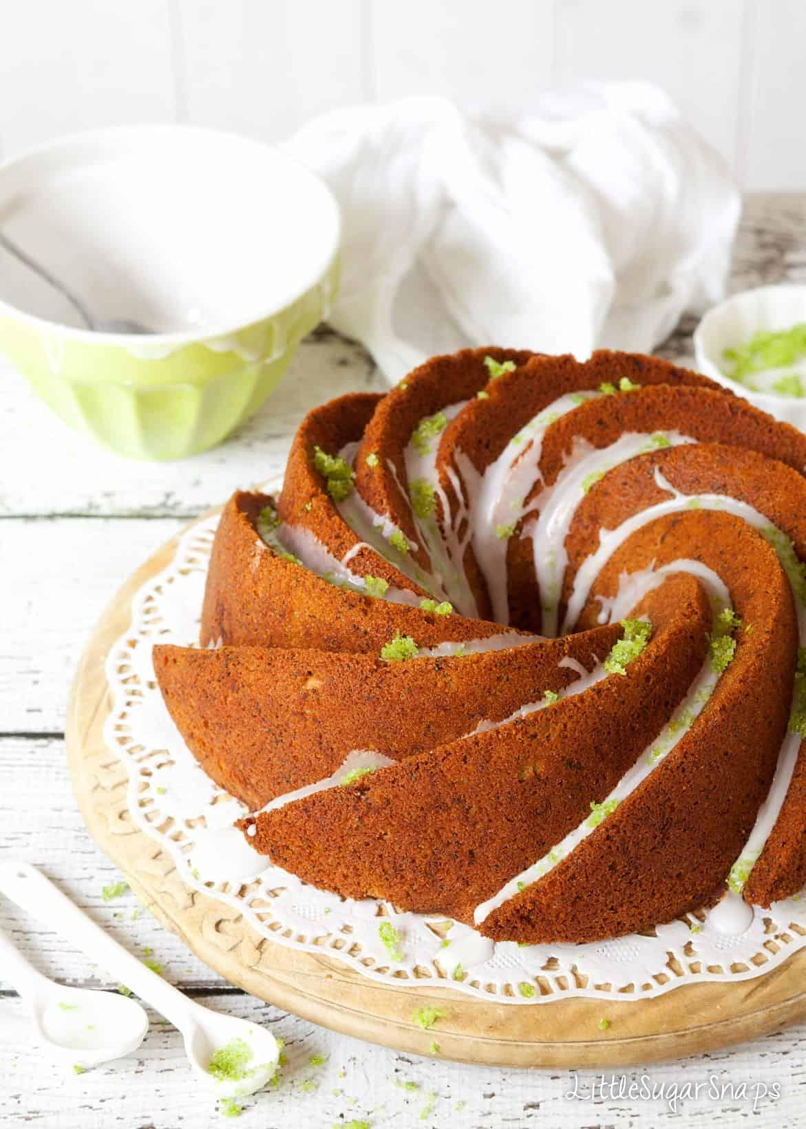 Zucchini Lime Cake