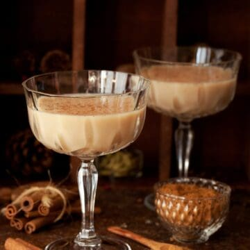Spiced Chai Latte Martini
