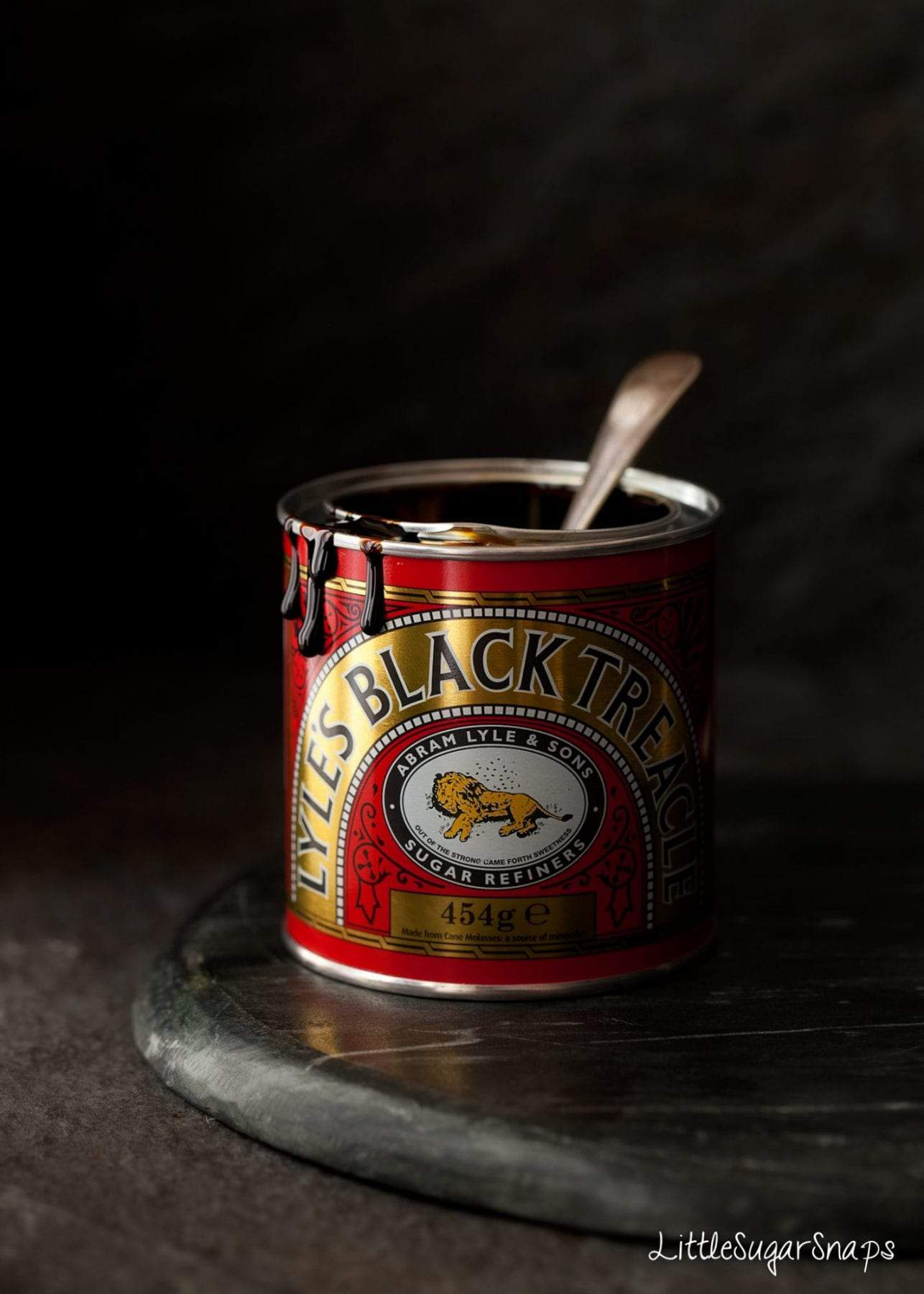 Black Treacle in a tin
