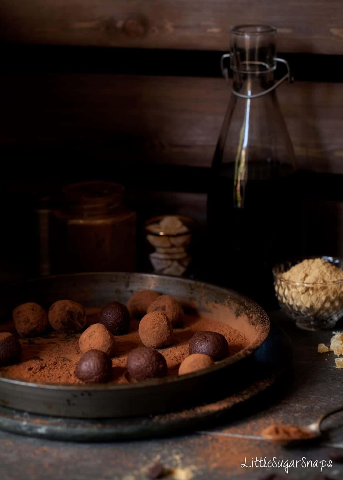 Ginger Truffles