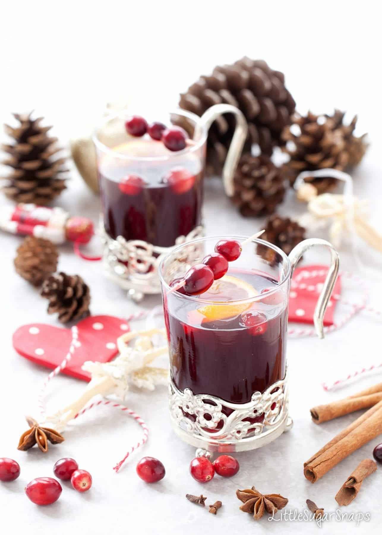 Mulled Grape Juice