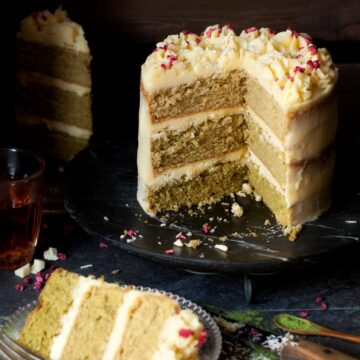 Matcha Ombre Cake