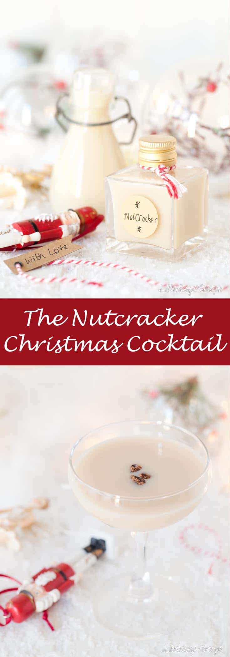 The Nutcracker Cocktail #christmascocktail #nutcracker #amaretto #frangelico #nutcrackercocktail