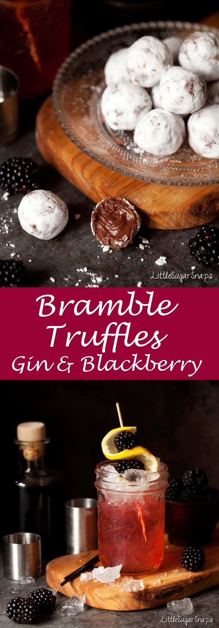 Bramble Truffle #bramble #brambletruffles #gintruffles