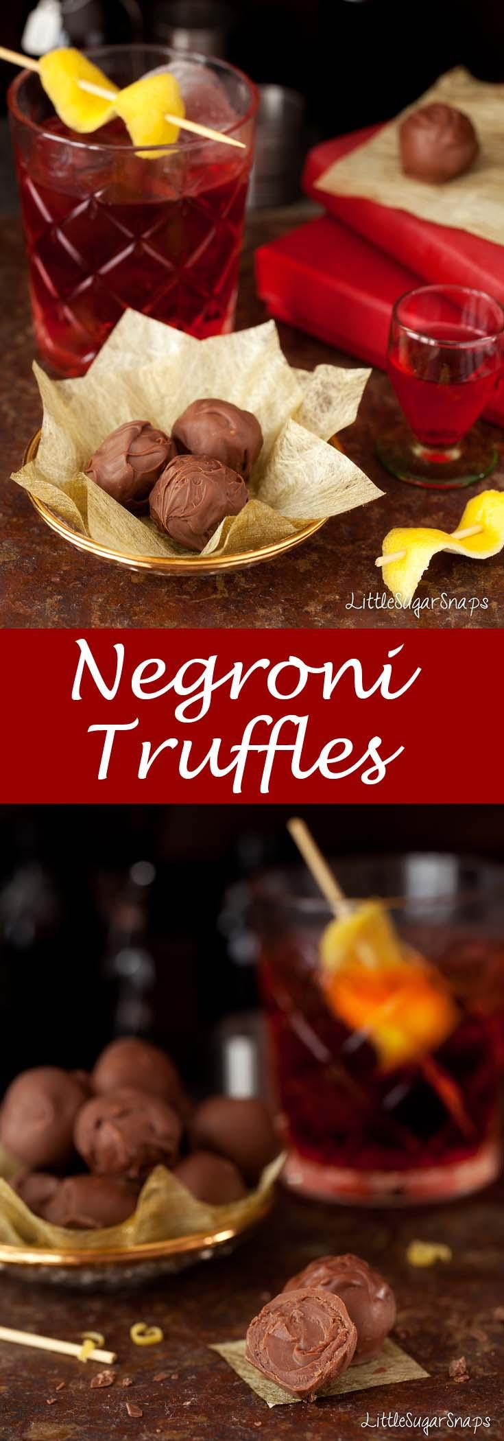Negroni Truffles #negroni #chocolatetruffle #truffles #negronitruffle width=