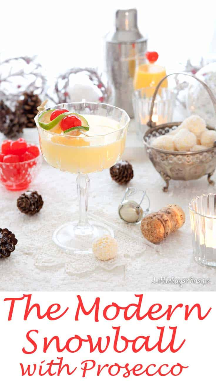 Snowball #snowball #advocaat #christmascocktail #prosecco