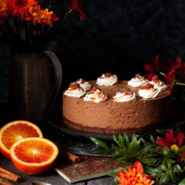 Cinnamon Chocolate Mousse Cake