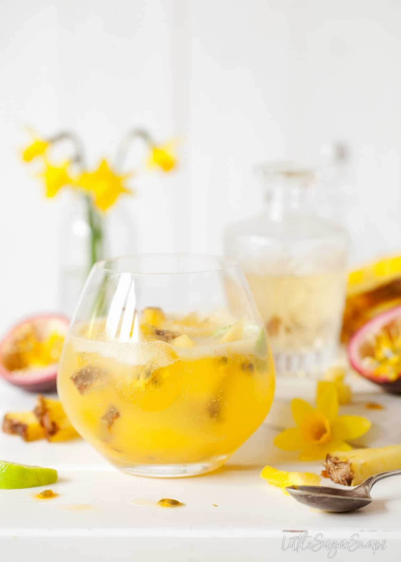 Passionfruit Pineapple Spring Gin & Tonic