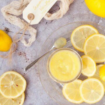 Vanilla Lemon Curd
