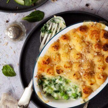 Cheesy Vegetable Potato Pies