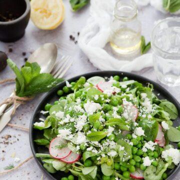 Mint Pea Salad-4