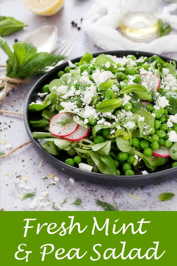 Mint Pea Salad #peasalad #mintedpea #peamint #mintpea #mintsalad #freshmint