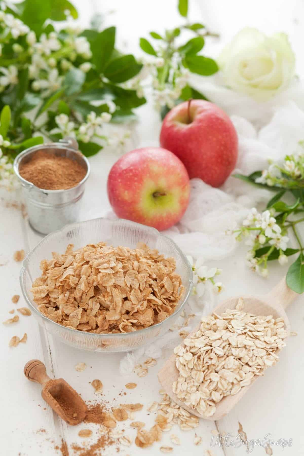 Spiced Apple Granola
