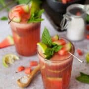 Salted Watermelon Mint Cooler
