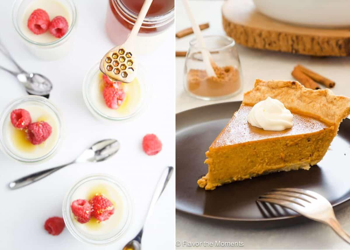 Chai Spice Desserts collage