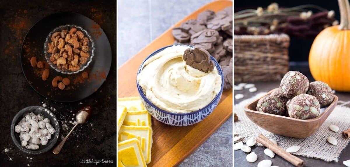 Chai Spice Nibbles collage