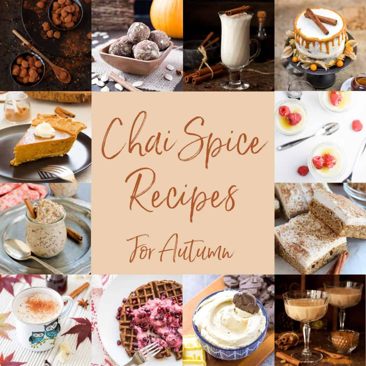 Chai Spice Recipe Collection