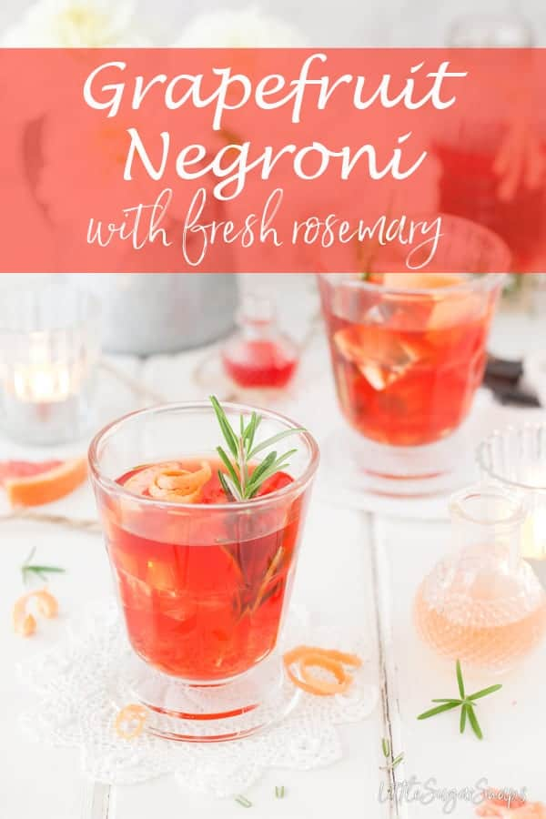 Grapefruit Negroni #negroni #grapefruitnegroni #campari #camparidrink #camparicocktail #grapefruitcocktail